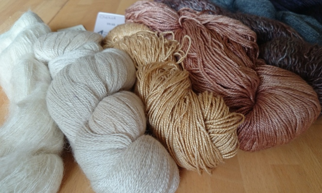 Fibre, texture, colour... so many things to think about!